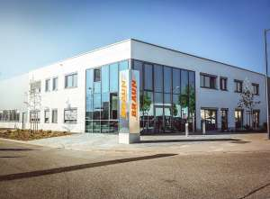 The new headquarters in Landau